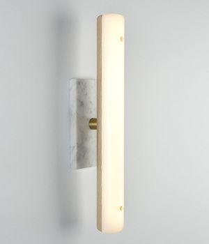 Linear Marble Brass Soft White Wandlampen Wandleuchte Wandleuchter