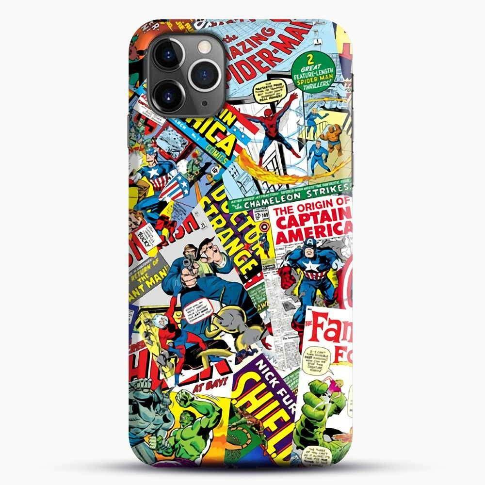Marvel Comics Pattern iPhone 11 Pro Max Case