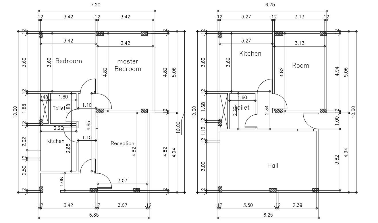 Autocad House Plans With Dimensions House Plans Autocad How To Plan