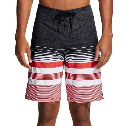 e9a3da3037e74 Men's Board Shorts Striped - Mossimo Supply Co. - Absolutely Red ...