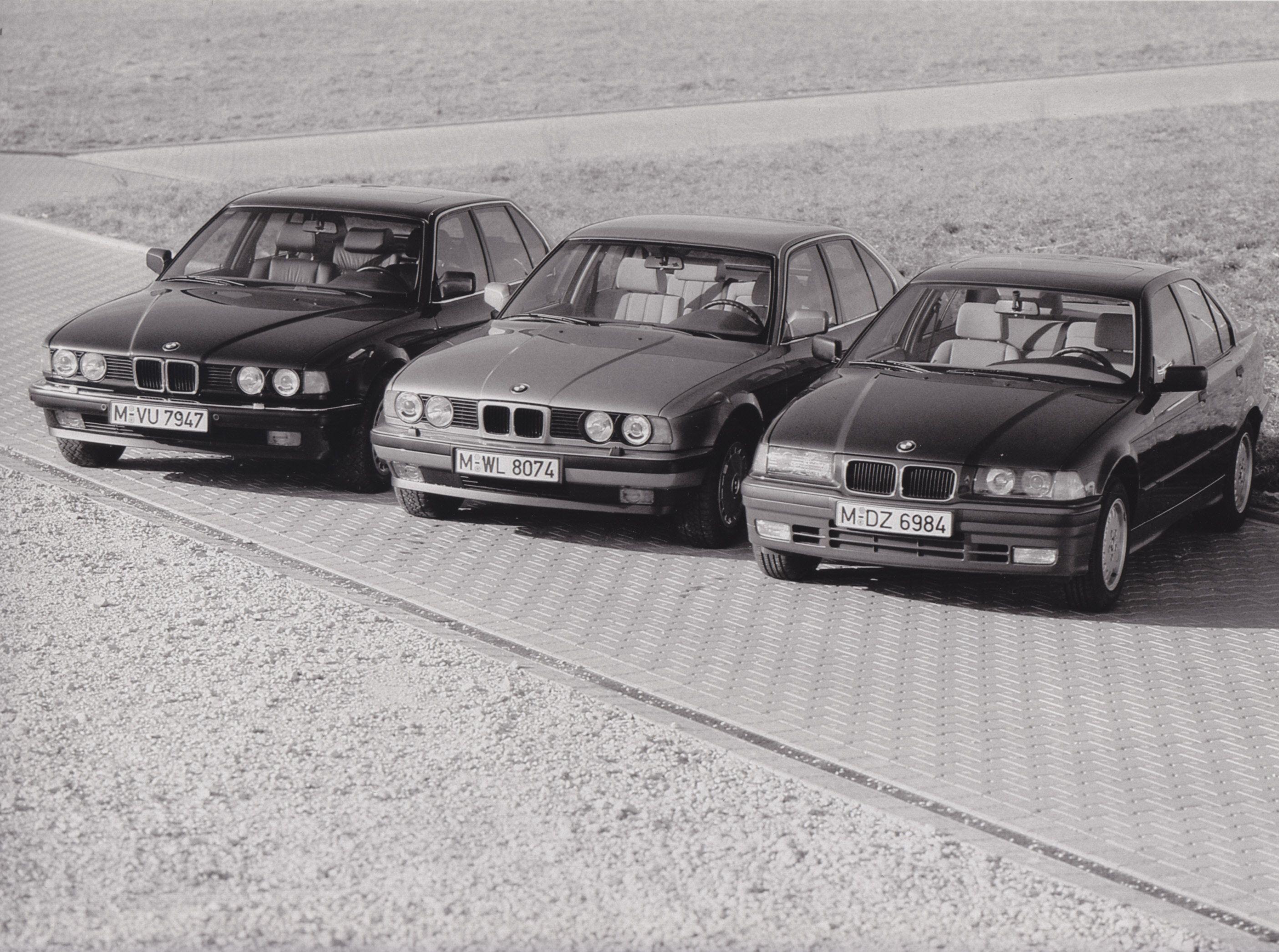 Bmw 7 Series E32 5 E34 And 3 E36 Auto 2