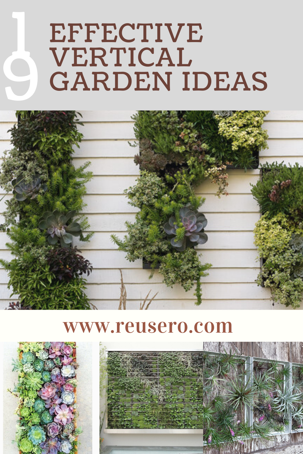 19 Awesome Vertical Gardening Ideas For Your Garden Reusero Vertical Garden Garden Landscaping Garden