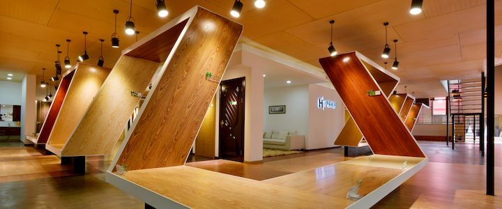Experience center by nota design group kunming china vm showroom store design installation exhibition