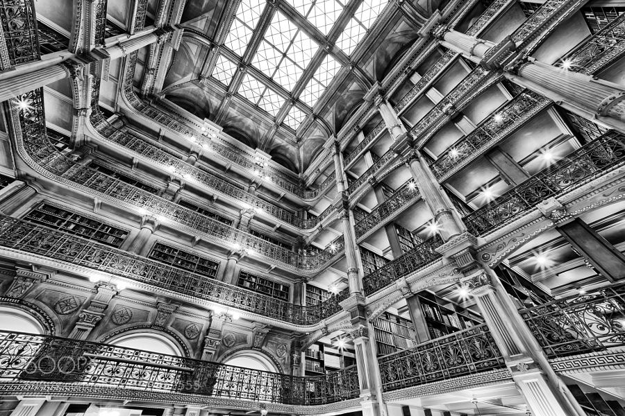 Library BW by ZucOs