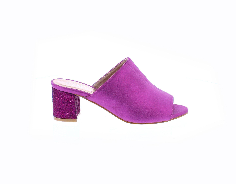 Womens Shoe Open Toe Mule Sandal Makersshoeshop Open Toe Mules Mule Sandals Heels
