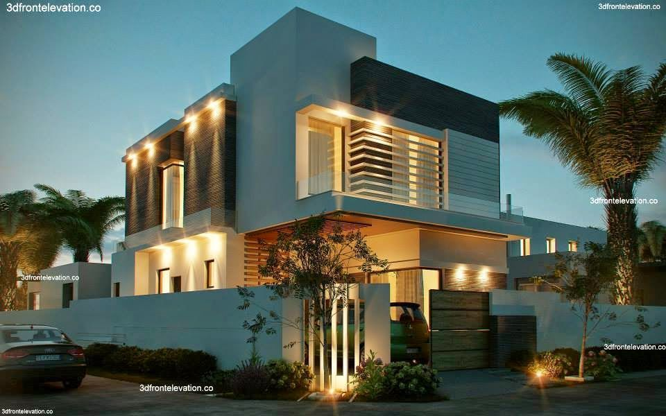 10 Marla Corner House Plan 3d Front Elevation Design Images In Pakistan Modern Residential