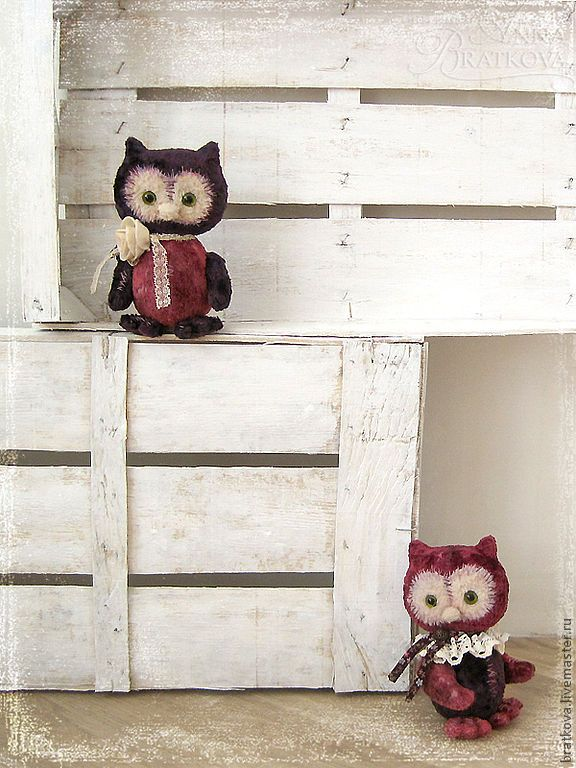 Анна Браткова / owls