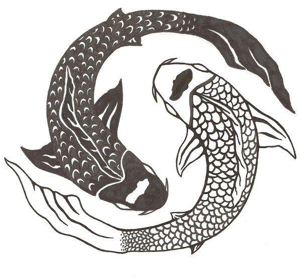 Ying yang koi fish tattoo design 2g 600557 basteln und ying yang koi fish tattoo design 2g publicscrutiny Image collections