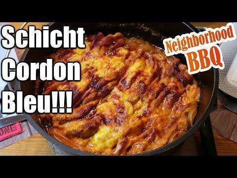 Schicht Cordon Bleu aus dem Dutch Oven mit Neighborhood BBQ