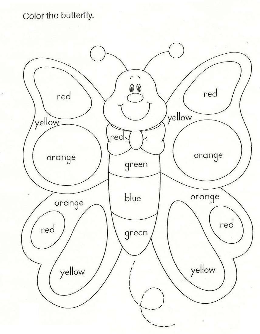 Los colores en inglés | Hojas de trabajo | Pinterest | El color ...