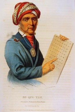 Famous Cherokee Indians: Sequoyah - A Literary genius | The o'jays ...