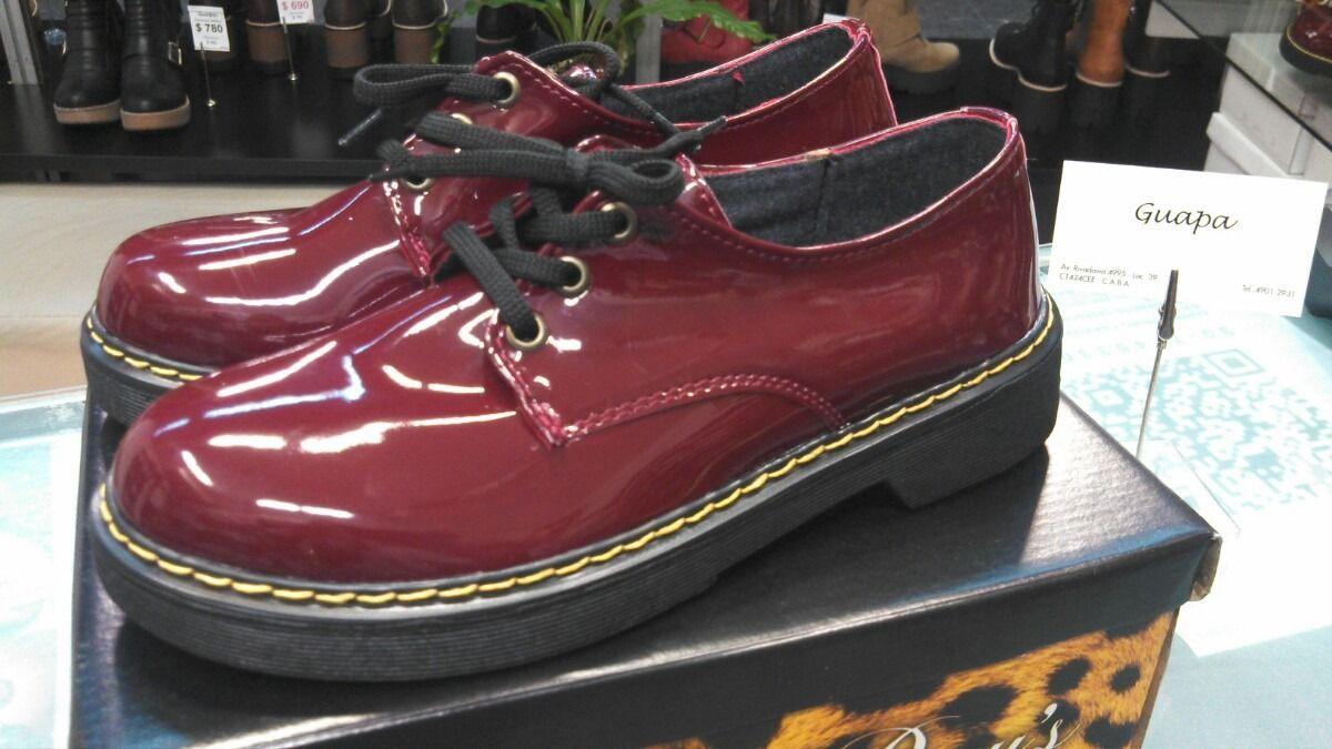 5f514817 zapato charol bordo acordonado | Zapatos | Zapatos, Charol y Ropa y ...