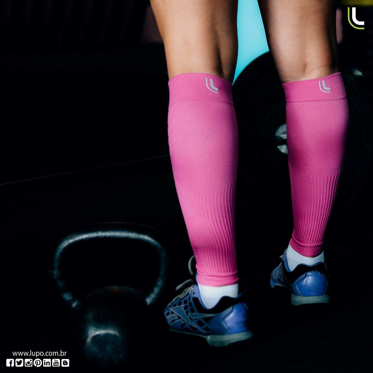 33a7939db O canelito de compressão Lupo Sport estimula a circulação e reduz a fadiga  muscular