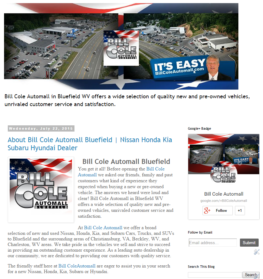Learn More About Bill Cole Automall Bluefield On Our Blog!  Http://billcoleautomallbluefield