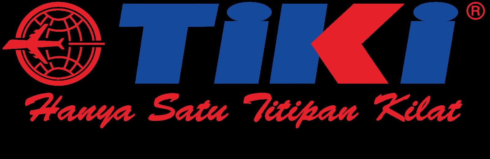 Cek Jasa Pengiriman Barang Kurir Ekspedisi Cargo Kantor Pusat Tiki Hanya Satu Titipan Kilat Desain Logo Kilat Desain