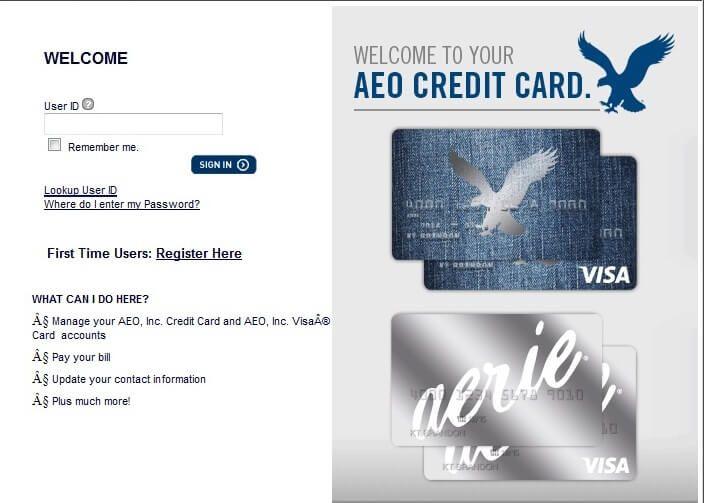 American Eagle Credit Card Login >> Pin By Lance Smith On American Eagle Credit Card Login Cards