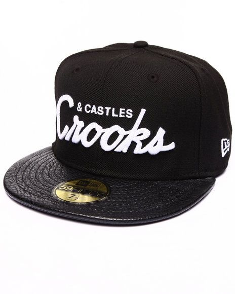 Buy Crooks League Fitted Cap Men's Hats from Crooks & Castles. Find Crooks & Castles fashions & more at DrJays.com