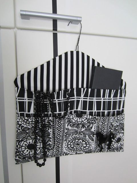 Storage with cloth hanger