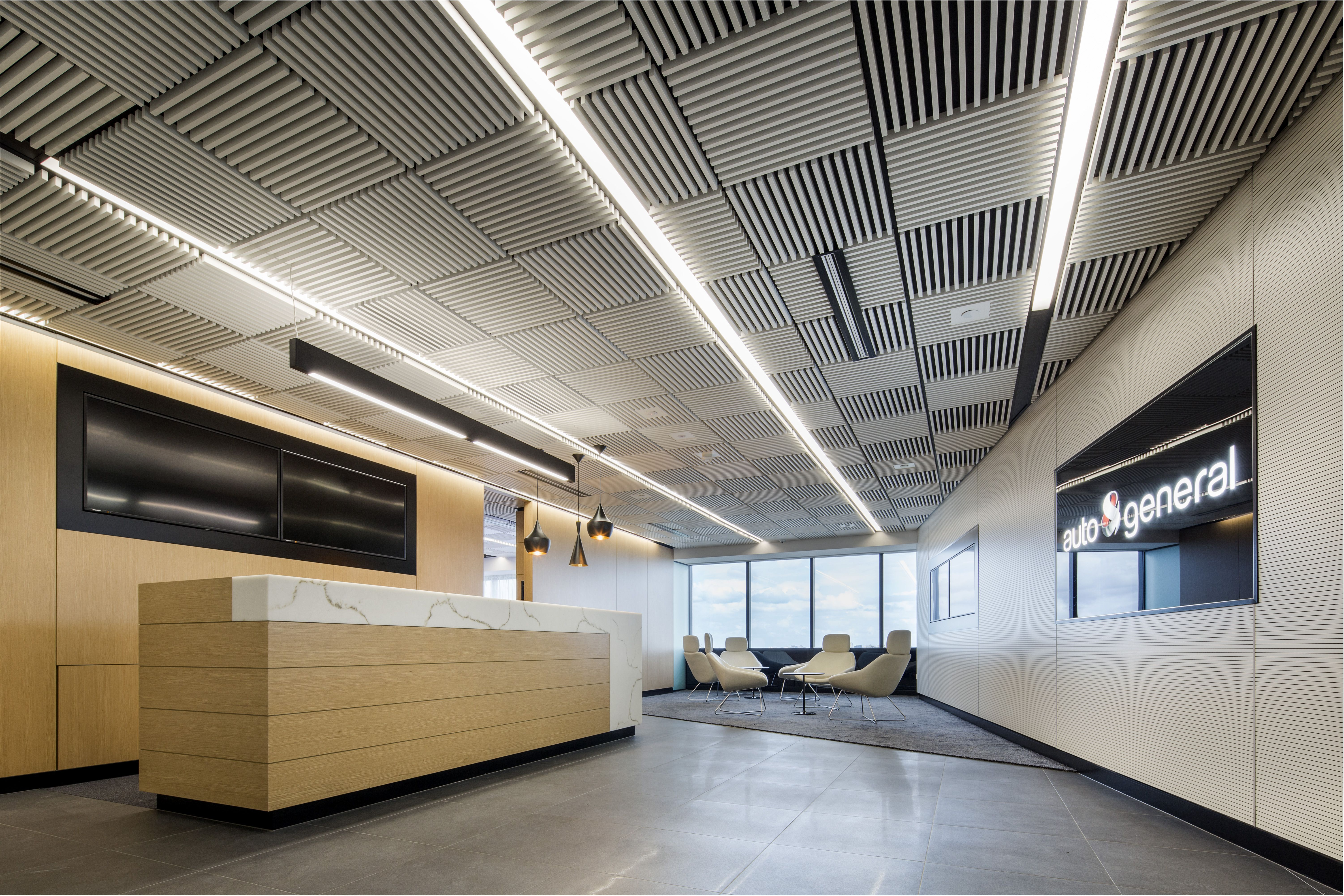 Modern Commercial Darkon Designer Lighting Layout