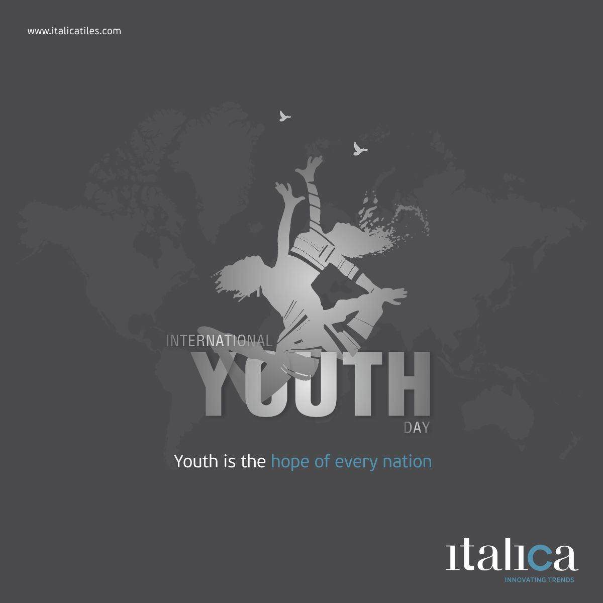 Youth Is The Hope Of Every Nation International Youth Day