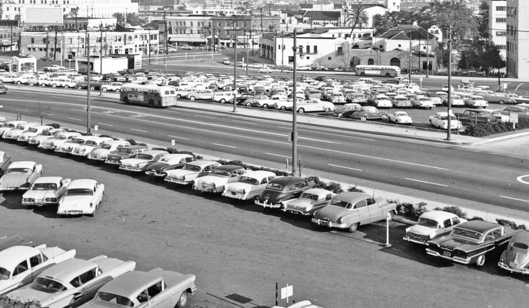 Parking Lot Series Late 1950s Two Sites in Los Angeles