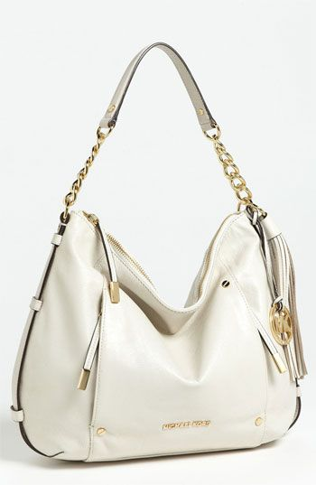 a5a9c3a08811 MICHAEL Michael Kors 'Devon - Large' Leather Shoulder Bag available at  #Nordstrom
