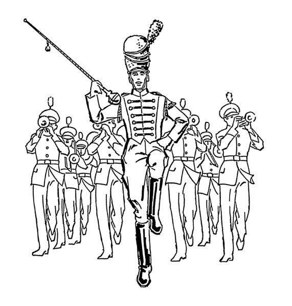 Marching Clipart Clip Art Library Clip Art Library Coloring Pages Cool Coloring Pages