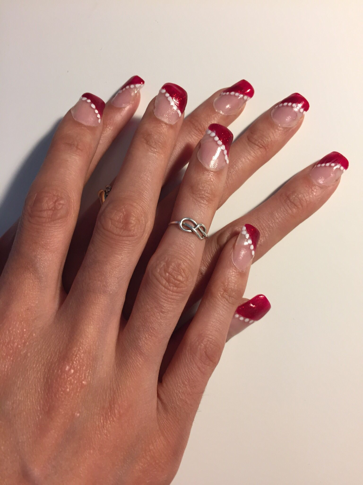 DIY acrylic nails - this was my second attempt at doing acrylic ...