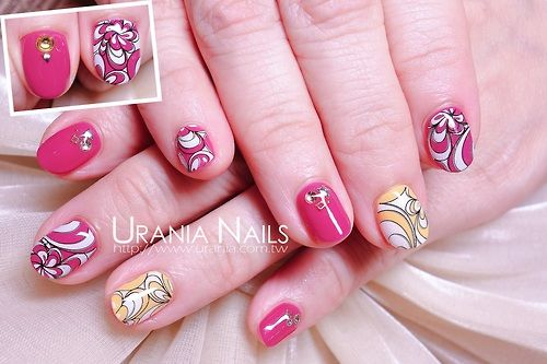 Spring nails http://blog.urania.com.tw/?p=933