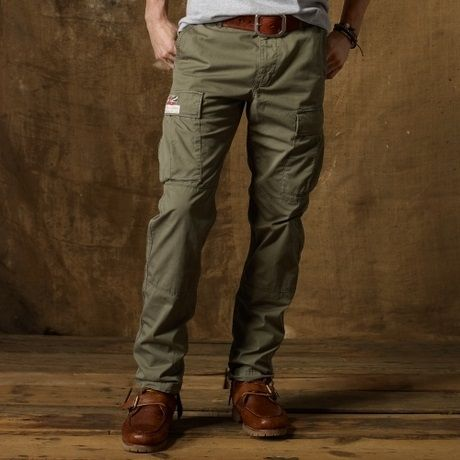 007456f3 Military Army Green Cargo Pants for Men - Have a definite color choice and  don'