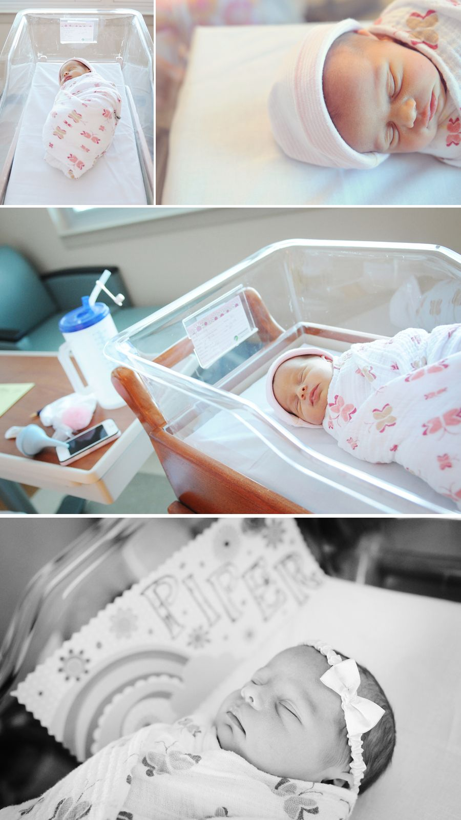 Newborn hospital photos