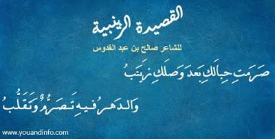 القصيدة الزينبية للشاعر صالح بن عبد القدوس Chalkboard Quote Art Art Quotes Chalkboard Quotes