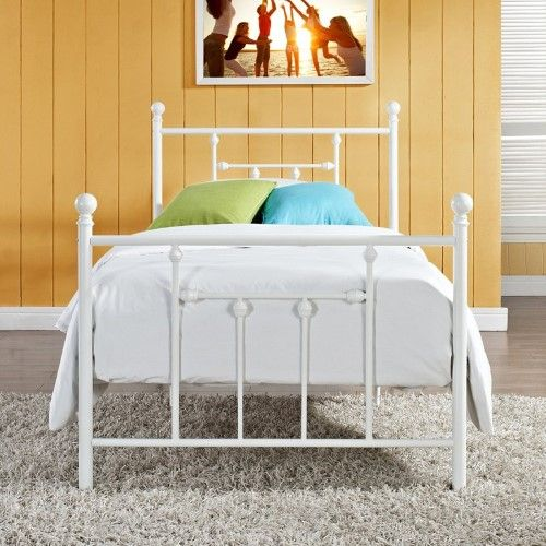 Dhp Manila Metal Bed Jet Com 179 99 15 Off White Metal Bed
