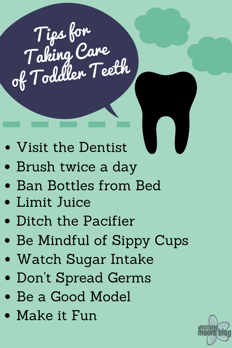 How to care for your preschoolers teeth