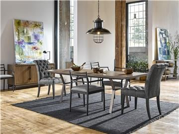 Universal Furniture  Curated  Ainsley 92 Dining Table  751759B Gorgeous Universal Furniture Dining Room Set Design Ideas