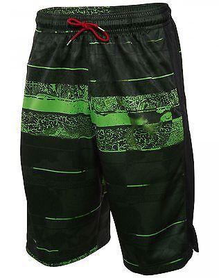 5e454bc137f09e Nike Jordan Son Of Mars Mens 687809-010 Black Green Basketball Shorts Size M