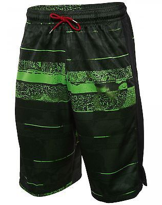 c7cbd9afcd9c58 Nike Jordan Son Of Mars Mens 687809-010 Black Green Basketball Shorts Size M