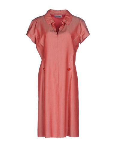SCARABEO MODA Women's Knee-length dress Coral M INT
