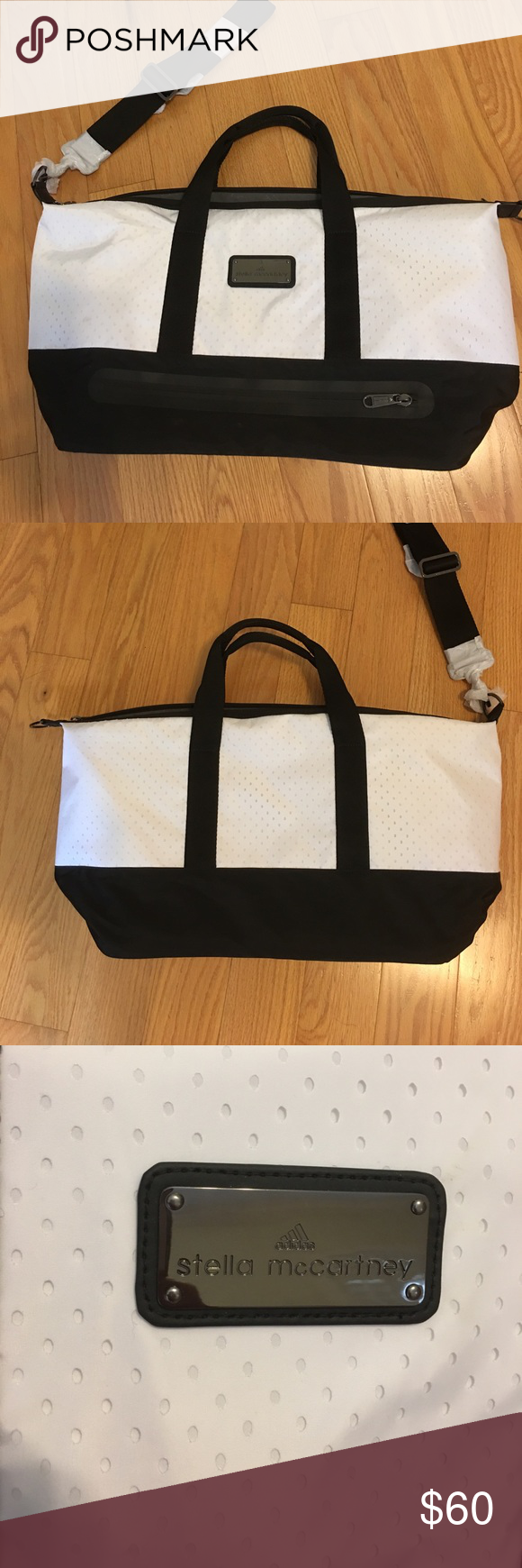 ad90ee8886c1 Adidas by Stella McCartney Gym bag Never used Gym bag. Lots of pockets
