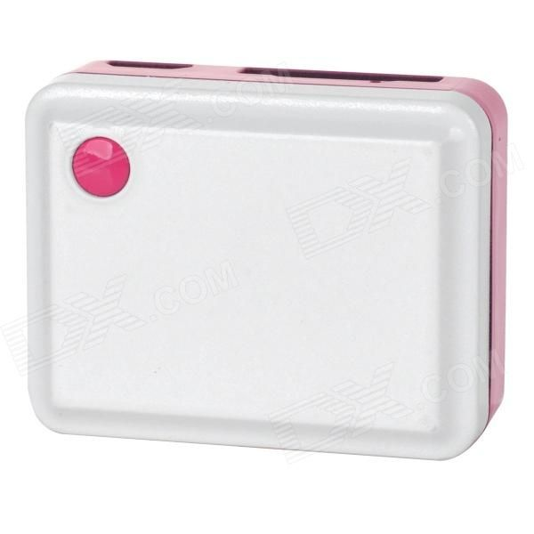 Color: White + Pink + Multi-Colored; Model: TK105; Material: PC; Quantity: 1 Set; Shade Of Color: White; GPS Sensitivity: 159dBm; Position Accuracy: 10~15m; Battery Type: Li-polymer battery; Packing List: 1 x Tracker1 x Cable (70cm)1 x 110~240V EU plug power adapter1 x Chinese / English user manual; http://j.mp/1kUcfM8