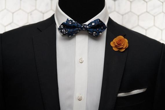 Self Tie Bow Tie Champagne Ivory Paisley Steampunk Retro Tuxedo Wedding Prom