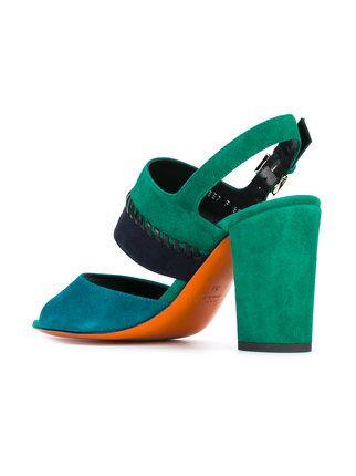 shop Santoni ankle length sandals