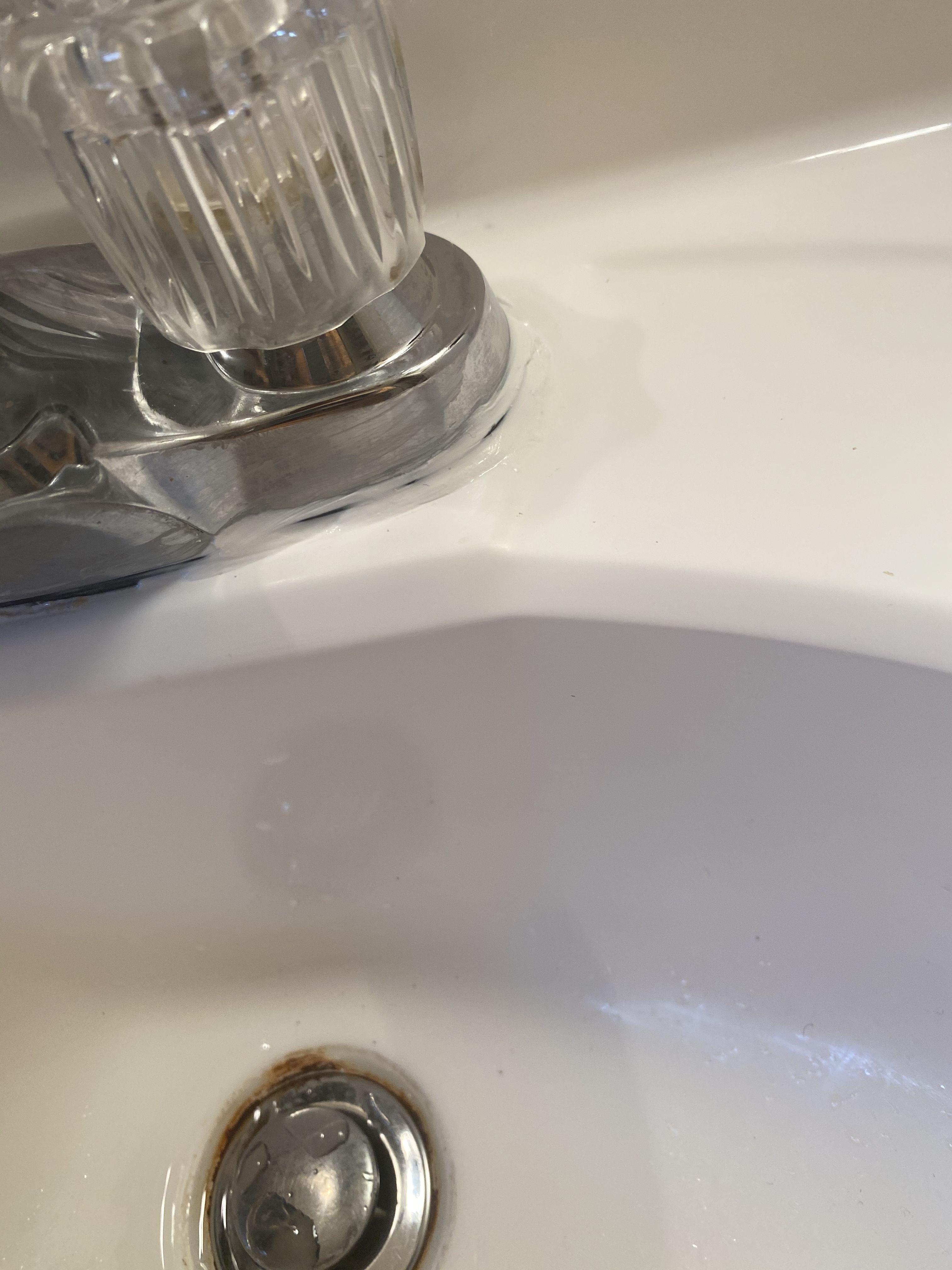 Caulk Redo Caulk Sink Cleaning Supplies [ 4032 x 3024 Pixel ]