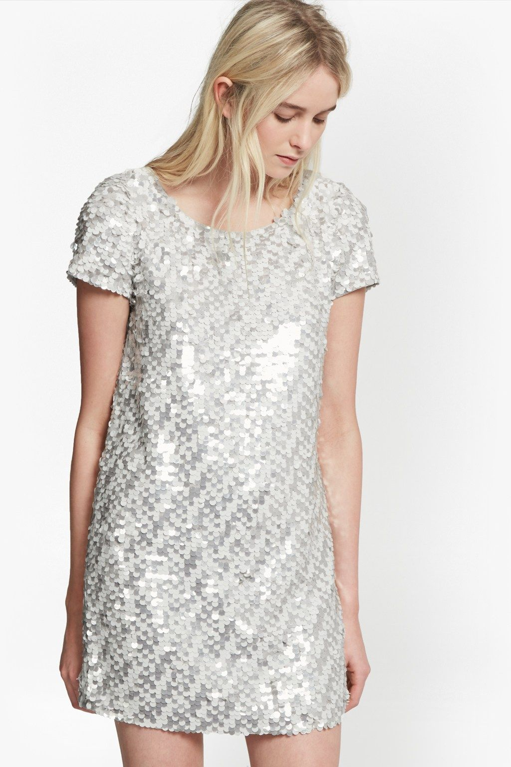Womens Snow Sequins Dress French Connection zxFCoCG