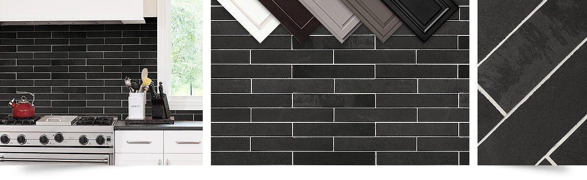 Black Slate Kitchen Backsplash Tile From Backsplash Com Item Number Ba1045 Mosaic Backsplash Kitchen Kitchen Tiles Backsplash Tile Backsplash