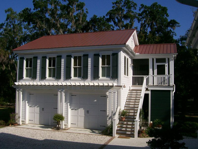 G0087 is a 2car garage with living space above. The