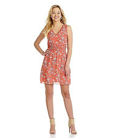 MSSP Floral Sheath Dress #Dillards