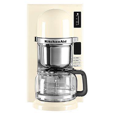 Kitchenaid Filter Kaffeemaschine Mit Gratis Zubehor Schwallbruhverfahren Wie Von Hand Aufgegossen Filterkaffeemaschine Kaffeemaschine Beste Kaffeemaschine