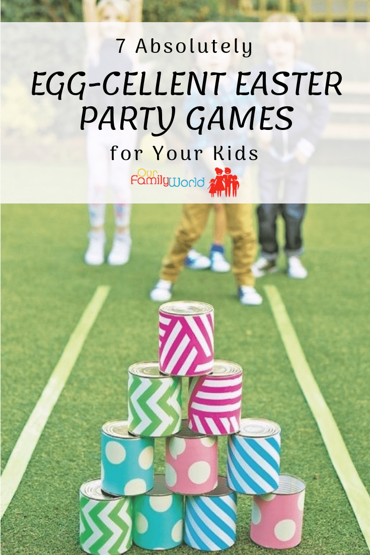 7 Absolutely Egg-cellent Easter Party Games for Your Kids