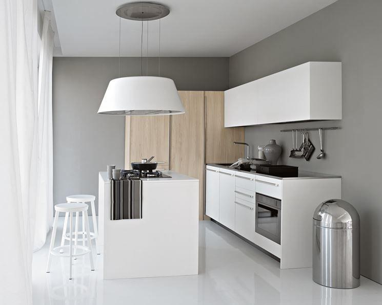 Cappa per cucina a isola Elmar Playground | Interiors: Kitchens ...
